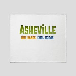Asheville. Hot bands. Throw Blanket