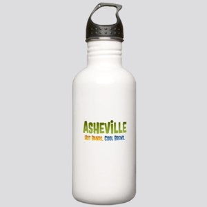 Asheville. Hot bands. Stainless Water Bottle 1.0L