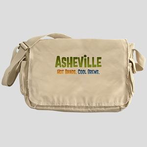 Asheville. Hot bands. Messenger Bag