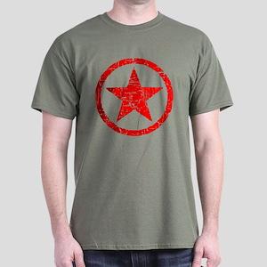 Etoile Rouge Black T-Shirt
