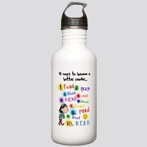 Read Better Stainless Water Bottle 1.0L
