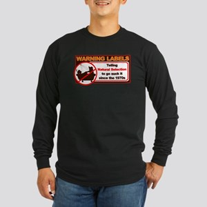 Natural Selection Long Sleeve Dark T-Shirt