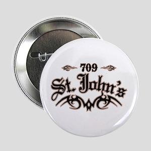 """St. John's 709 2.25"""" Button"""