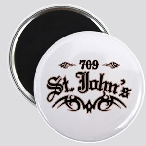 St. John's 709 Magnet
