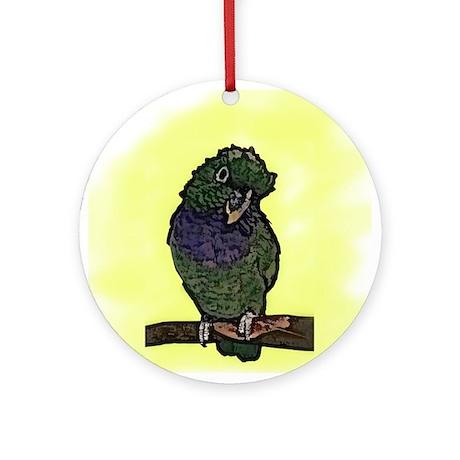 Maxi Pionus Art Ornament (Round)