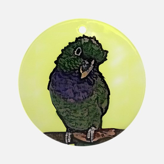 Maxi Pionus Art Ornament (Round)