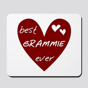 Heart Best Grammie Ever Mousepad