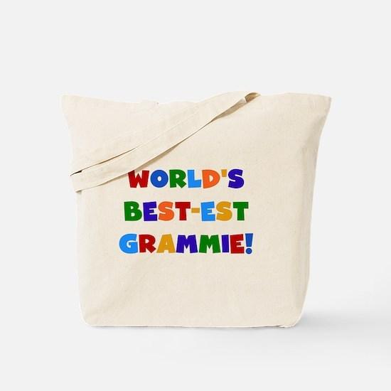 Grammie Bright Colors Tote Bag