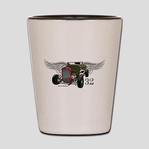 Flying Tiger 32 Deuce Tribute Shot Glass