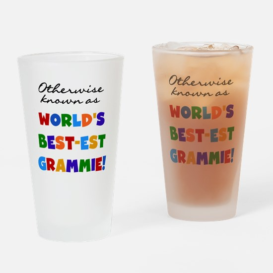 Otherwise Known Best Grammie Drinking Glass