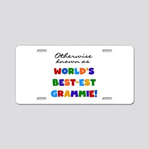 Otherwise Known Best Grammie Aluminum License Plat