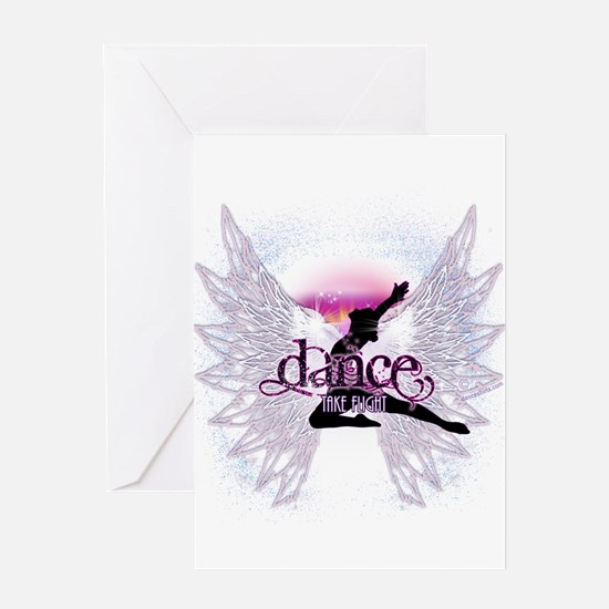 Crystal Dancer Greeting Card