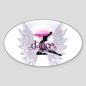 Crystal Dancer Sticker (Oval)