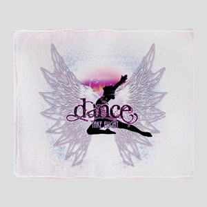 Crystal Dancer Throw Blanket