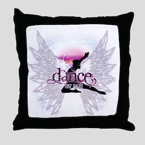 Crystal Dancer Throw Pillow