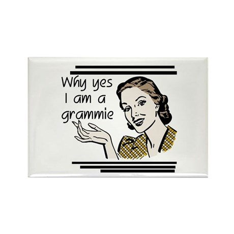 Retro Grammie Rectangle Magnet (10 pack)