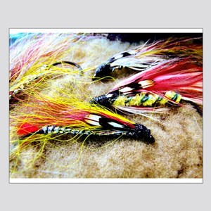 FLY FISHING LURES Small Poster