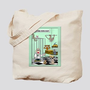 Ban Animal Testing Tote Bag