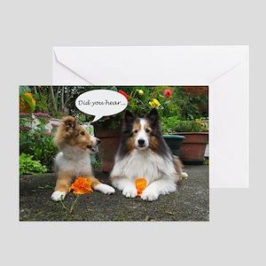 Did you hear? Greeting Card
