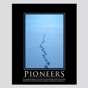 Pioneers Small Poster