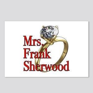 Army Wives Mrs. Frank Sherwood Postcards (Package