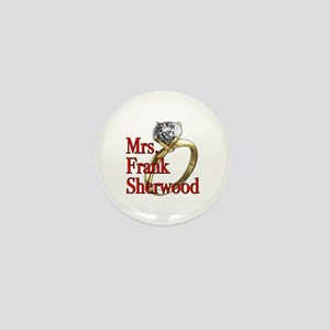 Army Wives Mrs. Frank Sherwood Mini Button