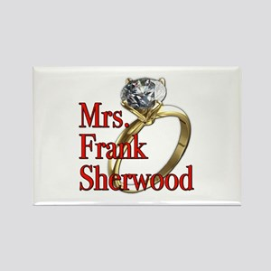 Army Wives Mrs. Frank Sherwood Rectangle Magnet