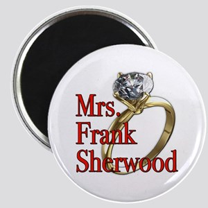 Army Wives Mrs. Frank Sherwood Magnet
