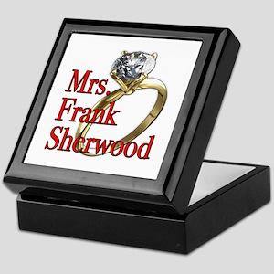 Army Wives Mrs. Frank Sherwood Keepsake Box