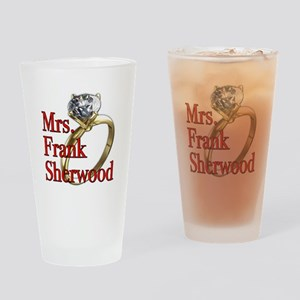Army Wives Mrs. Frank Sherwood Drinking Glass