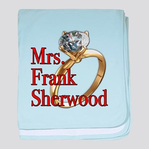 Army Wives Mrs. Frank Sherwood baby blanket