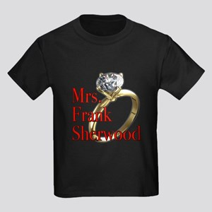 Army Wives Mrs. Frank Sherwood Kids Dark T-Shirt