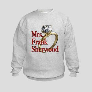 Army Wives Mrs. Frank Sherwood Kids Sweatshirt