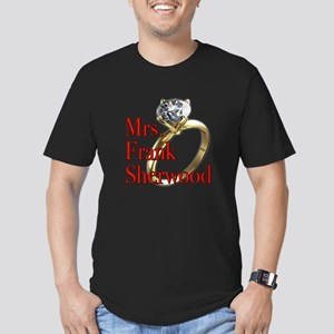 Army Wives Mrs. Frank Sherwood Men's Fitted T-Shir