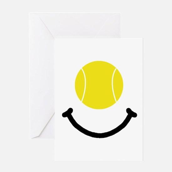 Tennis Smile Greeting Card