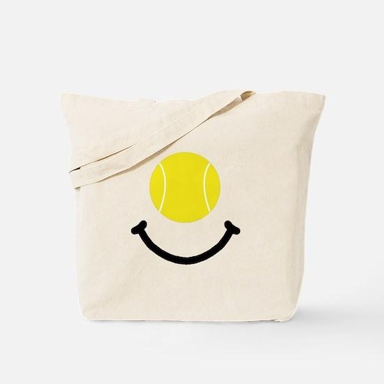 Tennis Smile Tote Bag
