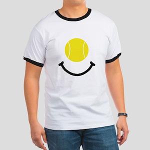 Tennis Smile Ringer T