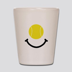 Tennis Smile Shot Glass