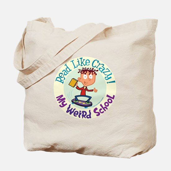 Read Like Crazy! Tote Bag