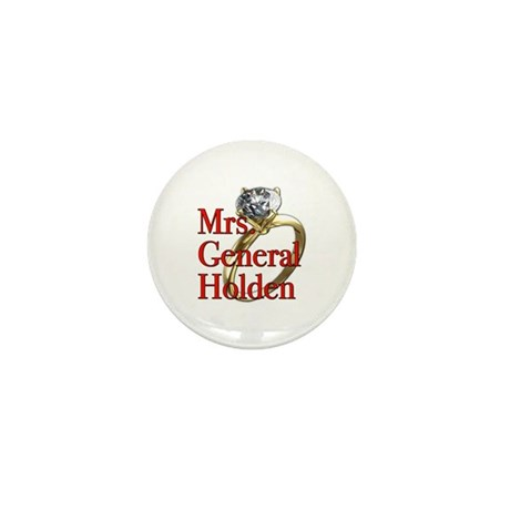 Mrs. General Holden Army Wives Mini Button (100 pa