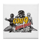 Con 9 Character Drink Coaster (tile)