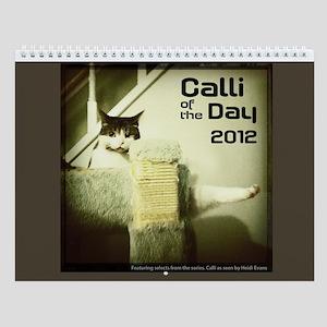 Calli of the Day Wall Calendar