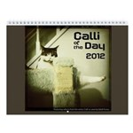 Calli of the Day Wall Calendar