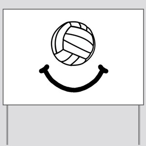Volleyball Smile Yard Sign