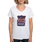 Daniel Boone SSBN 629 Women's V-Neck T-Shirt