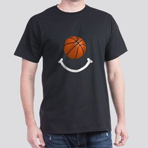 Basketball Smile Dark T-Shirt
