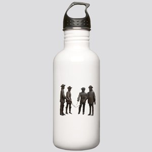 4 Musketeers Clear Bckg. Stainless Water Bottle 1.