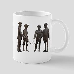 4 Musketeers Clear Bckg. Mug