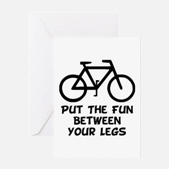 Bike Fun Greeting Card