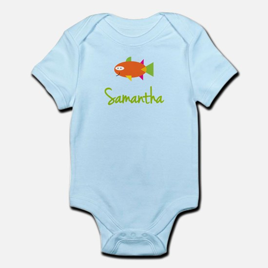 Samantha is a Big Fish Infant Bodysuit